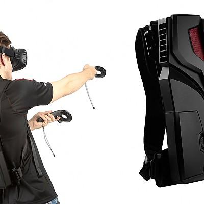 이동편리한 백팩형 VR시뮬레이션 + 액션VR의 최정점 활용한 VR체험장비 - BACKPACK VR체험장비